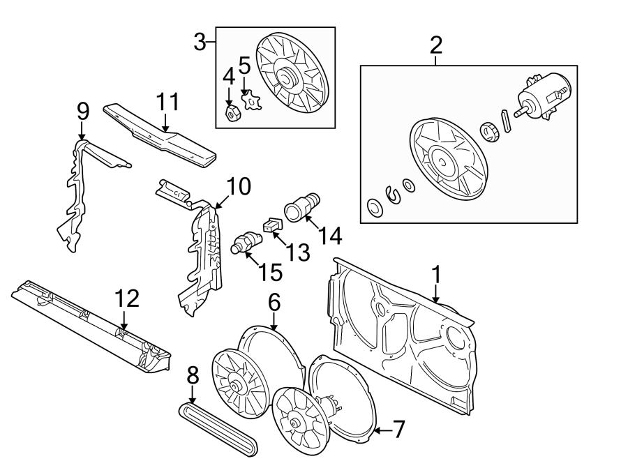 Volkswagen Cabrio Engine Cooling Fan Blade  Cylinder  Wac  Liter