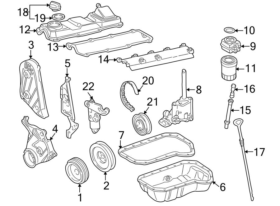 Volkswagen Cabrio Engine Timing Belt Tensioner Pulley