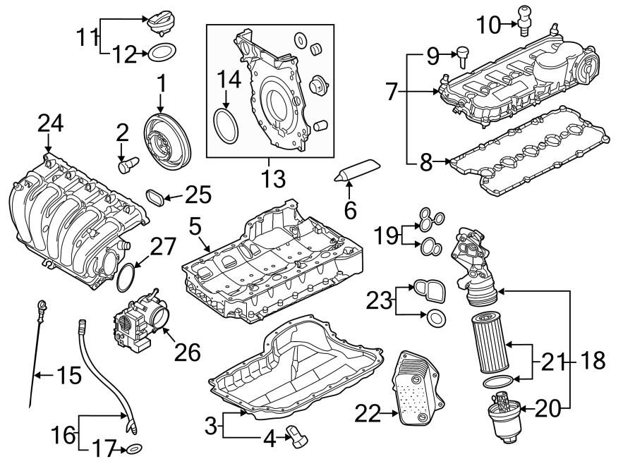 Volkswagen Jetta Engine Timing Cover. Lower, LITER ...