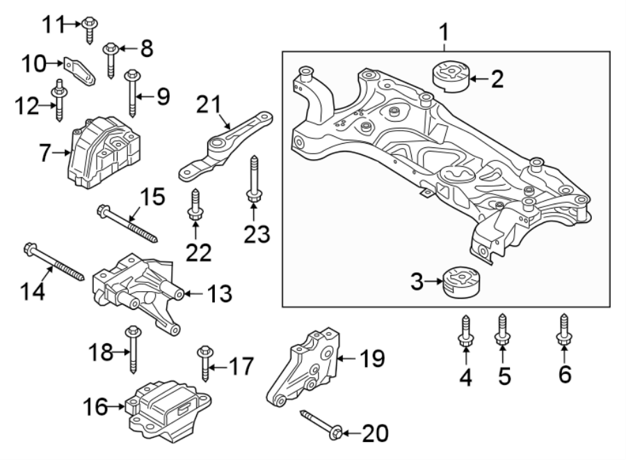 Volkswagen Jetta Manual Transmission Mount