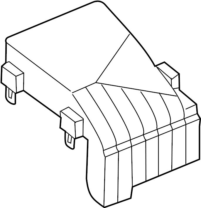 Volkswagen Sportwagen Fuse Box Cover