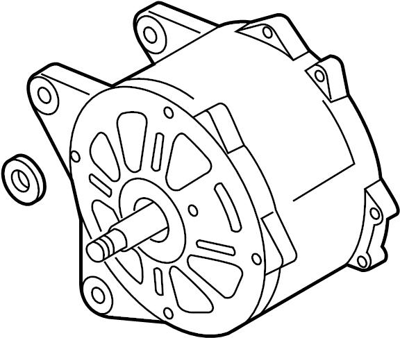 Volkswagen Passat Wagon Alternator. New, LITER, Battery